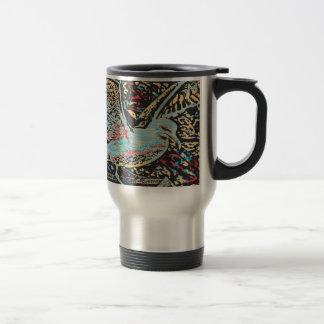 Seagull Woodcut Travel Mug