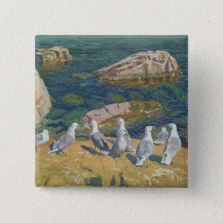 Seagulls, 1910 button