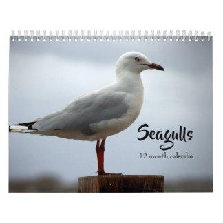 Seagulls 2019 calendar