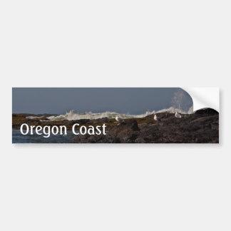 Seagulls and Surf Bumper Sticker