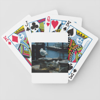 Seagulls Bicycle Playing Cards