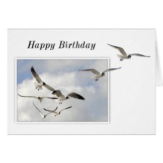 Seagulls Birthday Card