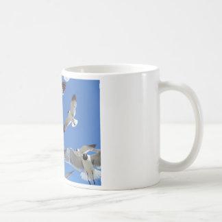 seagulls coffee mug