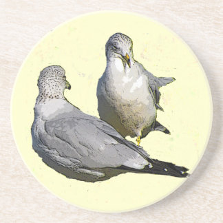 Seagulls Drink Coaster
