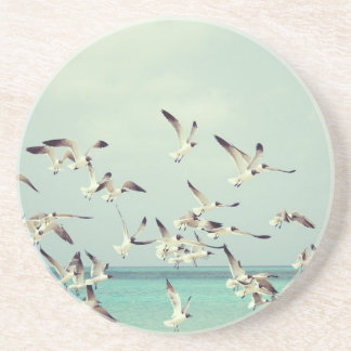 Seagulls Flying Drink Coaster