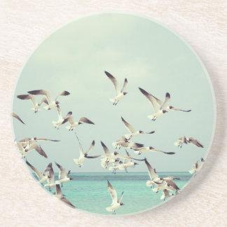 Seagulls Flying Drink Coaster