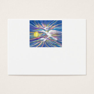 Seagulls Flying in the Sun Business Card