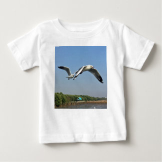 Seagulls in Flight Baby T-Shirt