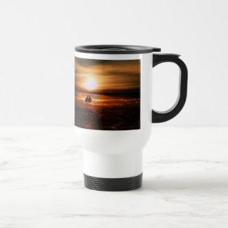 Seagulls - Lovebirds at Sunset Coffee Mugs