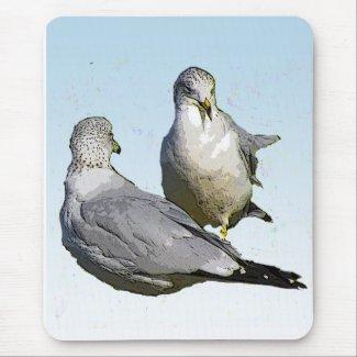 Seagulls Mousepads