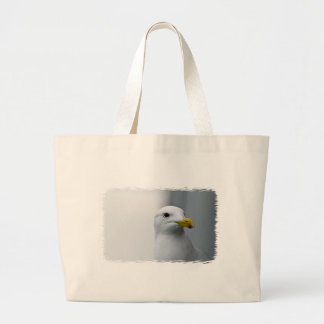 Seagulls Need Love Too Large Tote Bag
