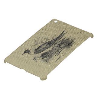Seagulls on Oatmeal Burlap iPad Mini Case
