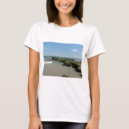 Seagulls on rocks T-Shirt