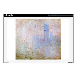 Seagulls over the Houses of Parliament by Claude Decals For Laptops