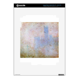 Seagulls over the Houses of Parliament by Claude iPad 3 Decal