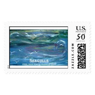 seagulls  postage