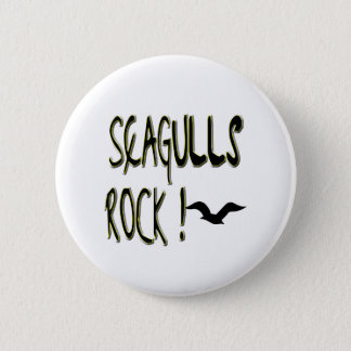 Seagulls Rock! Button