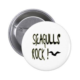 Seagulls Rock! Button