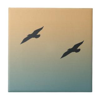 Seagulls Ceramic Tile
