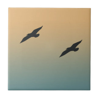 Seagulls Tile