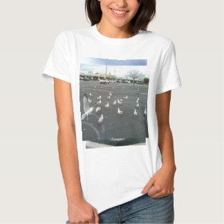 Seagulls Where is the beach? T Shirt
