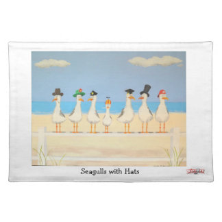 Seagulls With Hats - Place Mat