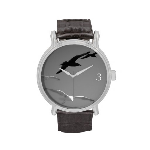 seagulls wrist watch