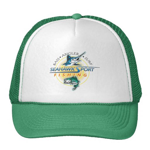 SeaHawk Fishing Hat with Logo