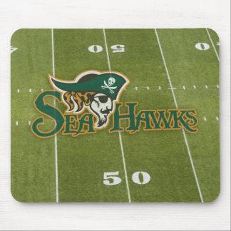 Seahawk Football Field Mousepad