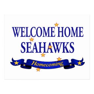 Seahawks casero agradable tarjeta postal