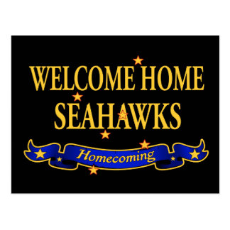 Seahawks casero agradable postal