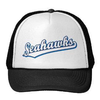Seahawks en blanco y azul gorro