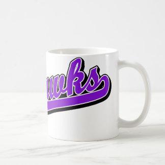 Seahawks en púrpura taza