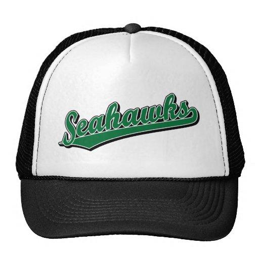 Seahawks en verde gorros bordados