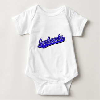 Seahawks in Blue Baby Bodysuit