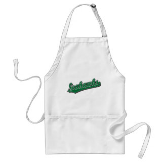 Seahawks in Green Adult Apron