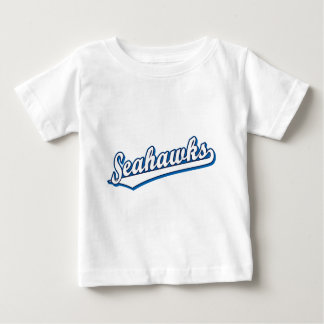 Seahawks in White and Blue T Shirt