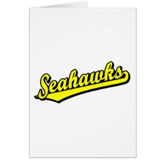 Seahawks in Yellow Card