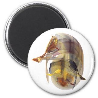 Seahorse 2 Inch Round Magnet
