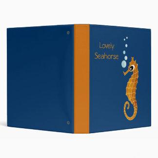 Seahorse 3 Ring Binder