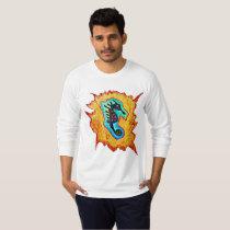 Seahorse abstract T-Shirt