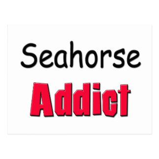 Seahorse Addict Postcard