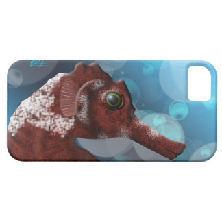 Seahorse and Bubbles iPhone 5 cover