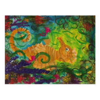 """""""Seahorse and Friends"""" Postcard"""