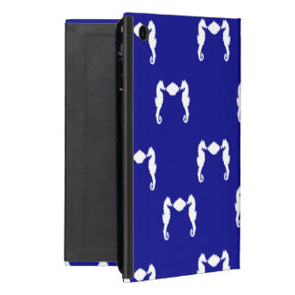Seahorse and Shell Cover For iPad Mini