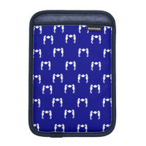 Seahorse and Shell iPad Mini Sleeve