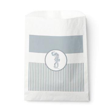 Beach Themed Seahorse Art Casual Beach Favor Bag