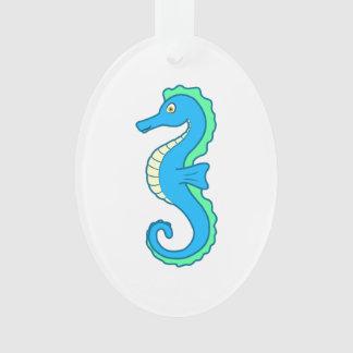 Seahorse azul