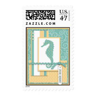 Seahorse Baby Stamp