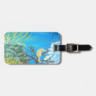 Seahorse Bag Tag